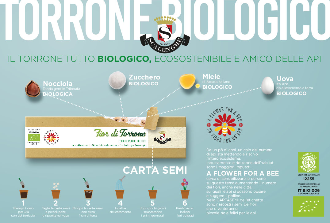 Stampa Torrone Biologico Scalenghe