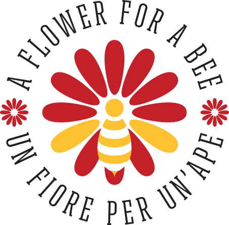 Logo a flower for a bee